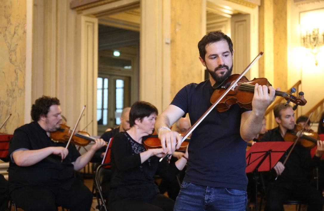 Concert à la mairie du 18e juin 2019