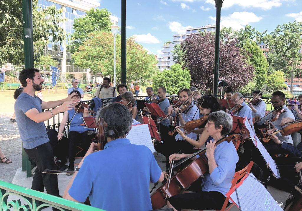 Concert square Villemin juin 2019